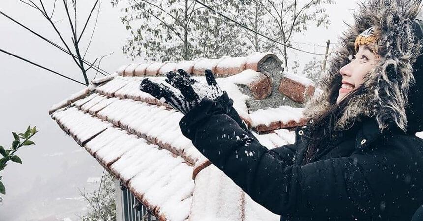 sapa tuyết rơi