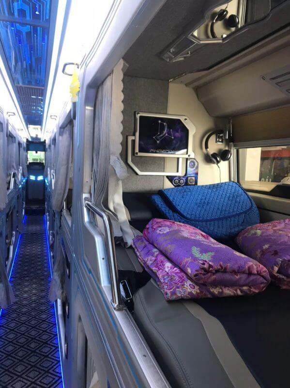 cabin xe giường nằm bắc ninh sapa