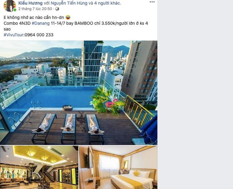 combo vé máy bay và khách sạn