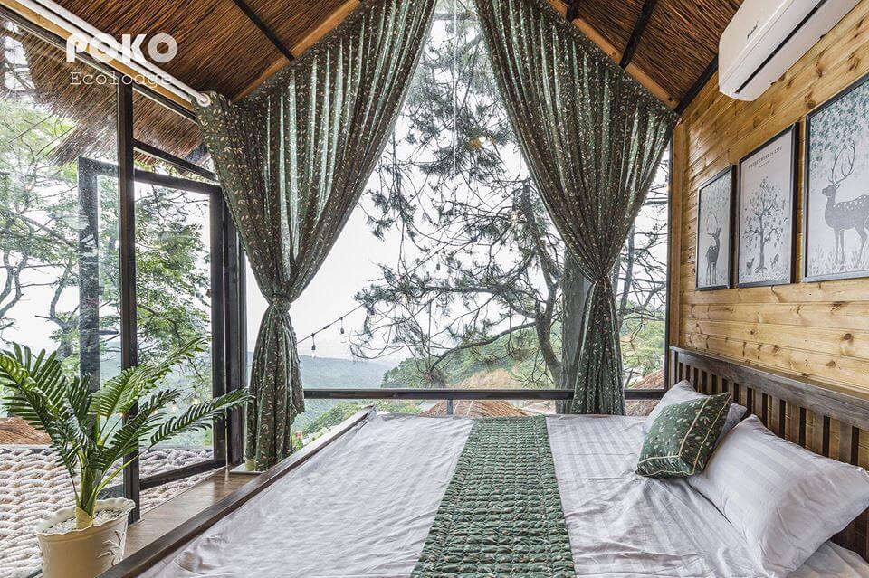 nhà trên cây poko tam đảo
