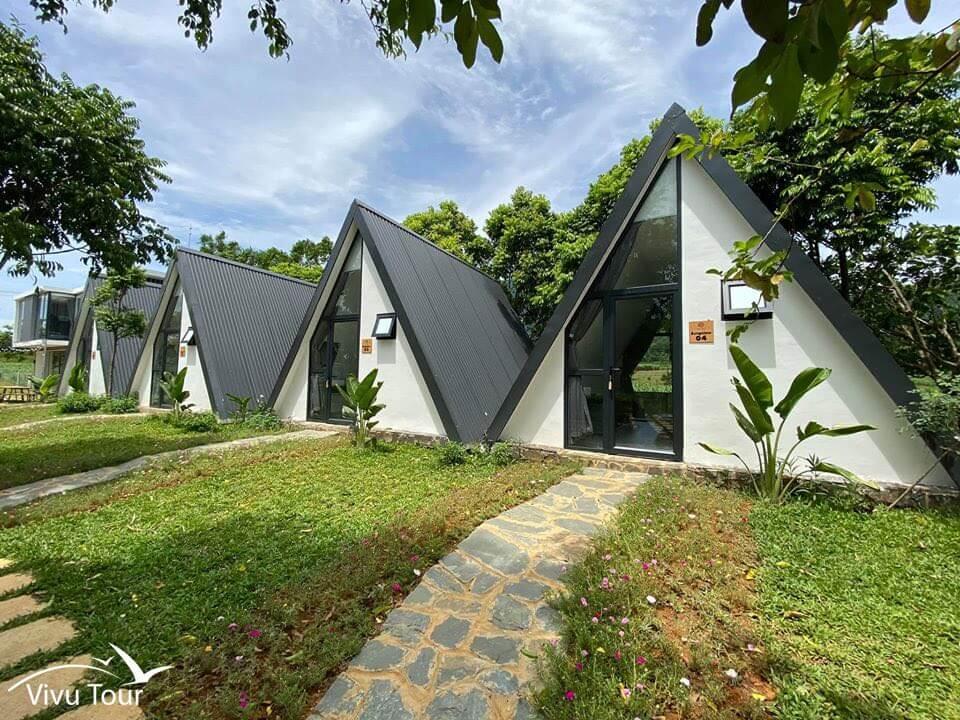 ba vì view bungalow villa