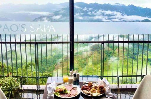 ăn sáng tại pao's sapa