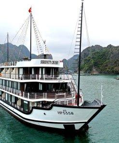 du thuyền serenity luxury