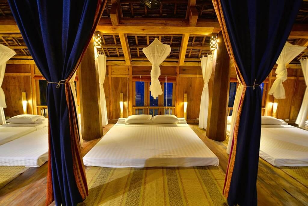 nhà sàn tại pù luông retreat 1