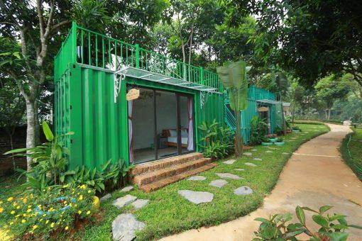 phòng containner may tropical villa ba vì