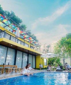 luxury container villa ba vì