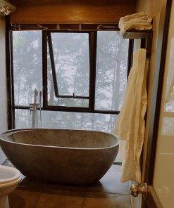 chalet swiss đơn chillout tam đảo phòng tắm