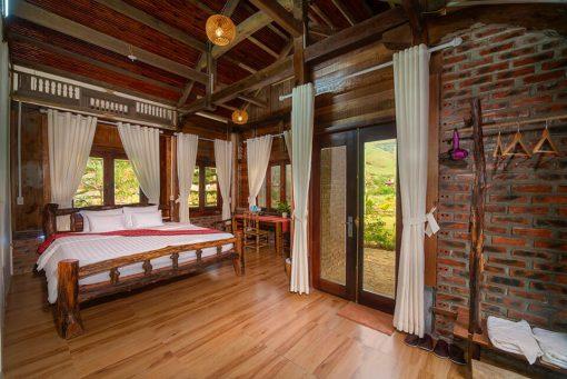 phòng suite double tại the nordic village mộc châu