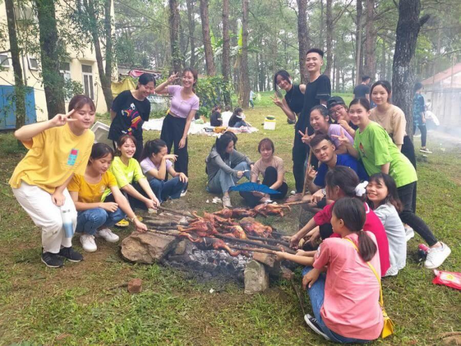 vườn quốc gia ba vì cắm trại